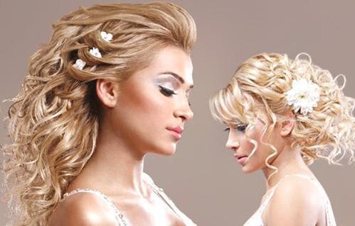 Свадебная причёска на средние волосы с чёлкой фото